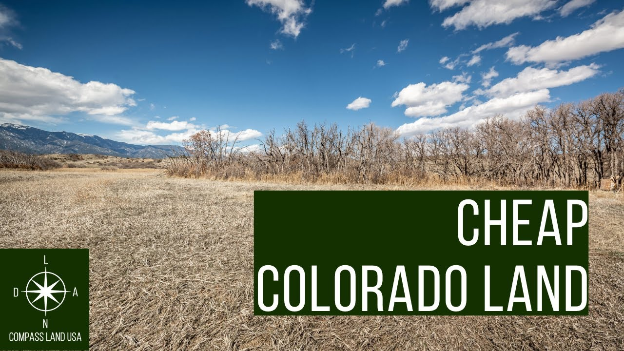 Sold by Compass Land USA - Cheapest 0.1 Acres Colorado Land Maybe You've Ever Seen