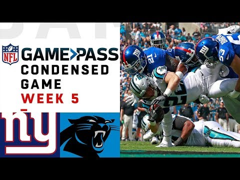 Giants vs. Panthers | Week 5 NFL Game Pass Condensed Game of the Week