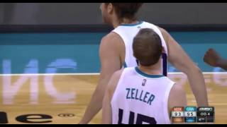 Cody Zeller last-second game-winner: Charlotte Hornets vs. New York Knicks
