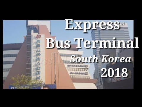 Seoul Express Bus Terminal South Korea # Malu bertanya sesat di jalan broew😉😉😉😉...