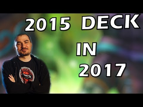 Hearthstone - Kripp's 2015 Deck Played in 2017