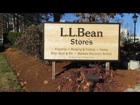 Visit LL Bean In Freeport Maine Great Wildlife Displays.