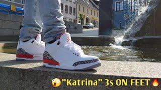 "AIR JORDAN 3 ""KATRINA"" EARLY!! ON FOOT!!"