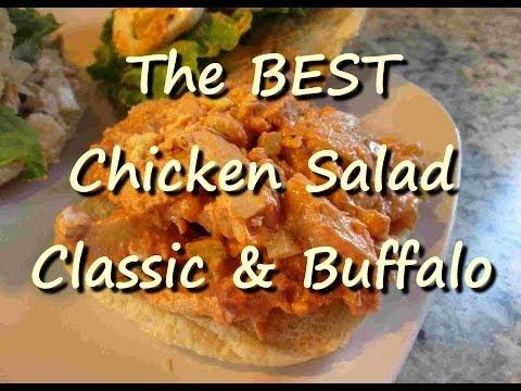 The Best Chicken Salad Sandwich Recipe Classic & Buffalo Wing Chicken Salad
