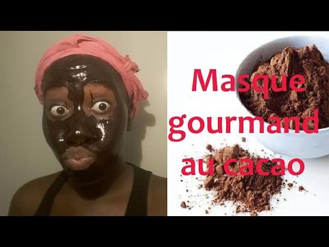 ➞ Beauté visage | Masque gourmand au cacao