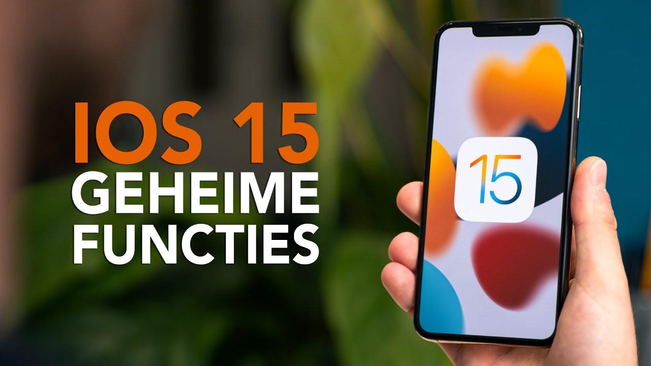 Deze kleine iOS 15 functies kende je nog niet