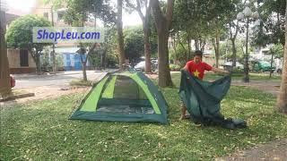 Hướng dẫn dựng lều cắm trại 4 người eureka apex 3xt -