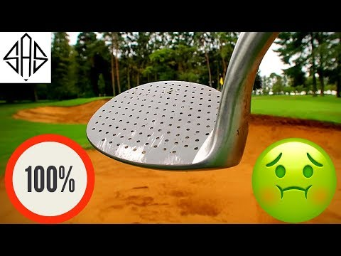 THIS UGLY GOLF CLUB WILL SOLVE YOUR BUNKER PROBLEMS!