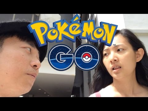 POKEMON GO SINGAPORE DAY 1 GOOD TIMES (How to get a lot of Pokecoins at once)