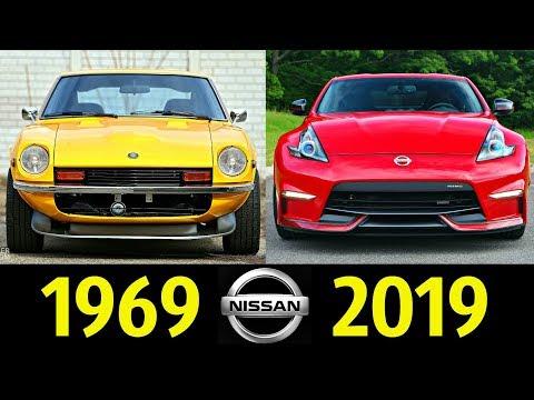 Nissan 350Z - Эволюция (1969 - 2019) ! История Модели !