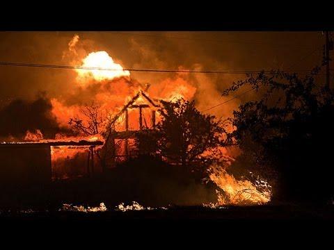 Aprenda inglés con los incendios forestales en Arizona