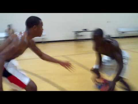 Armani Ousley Jamal Akakpo  James Jordan Center 6 10 13