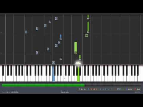 Daisy (OST) - Piano Cover Tutorial & Midi