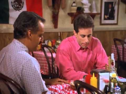 Seinfeld Clip - Babhu Bhat And The Cafe'