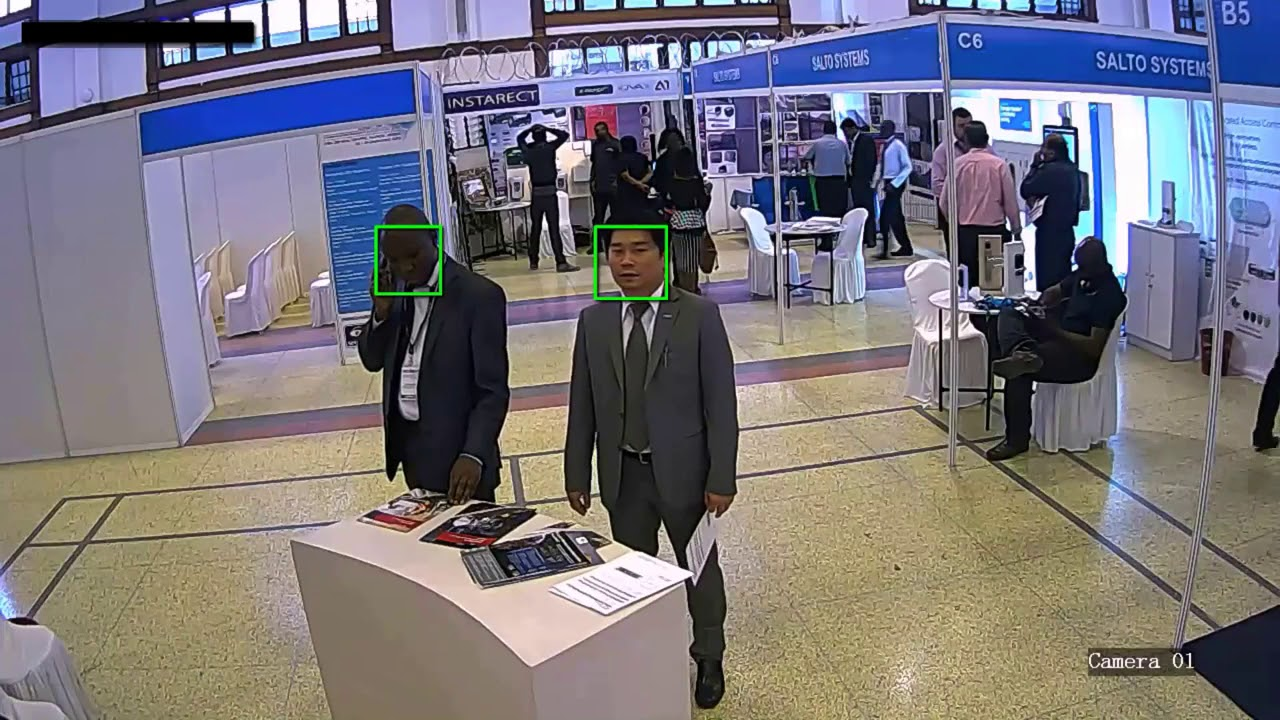 Image result for unv face detection