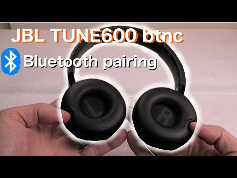 How to pair JBL TUNE600 BTNC wireless bluetooth headphones
