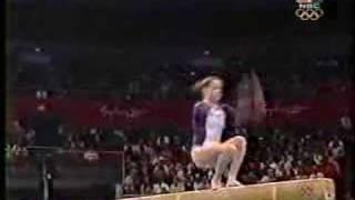 Elise Ray - 2000 Olympics EF - Balance Beam