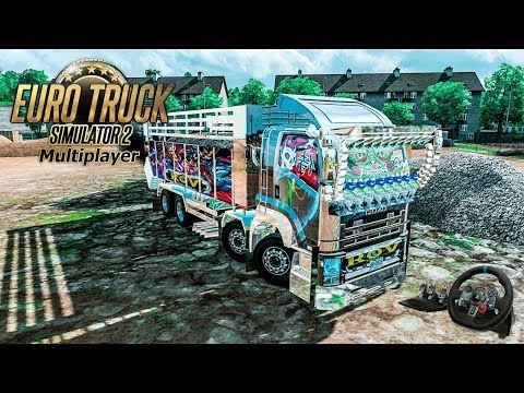 🚛【🔴 LIVE】Part 61  ISUZU 360 ลาย ROV Euro Truck Simulator 2 |