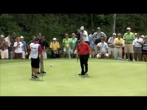 Jack Nicklaus - Unbelievable 102 Foot Putt ! video