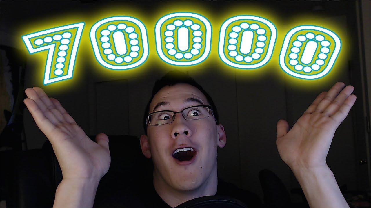 70000 SUBSCRIBERS! - YouTube