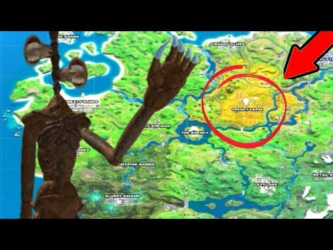 Siren Head FOUND In Fortnite Battle Royale! (Chapter 2)