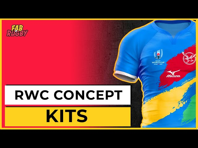 Rugby World Cup 2019 Shirts - Concept Series
