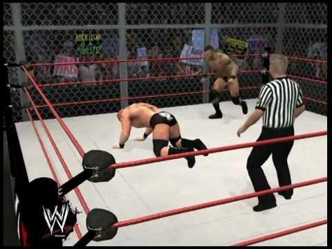 WWE '12 Randy Orton kills Brock Lesnar Raw is War