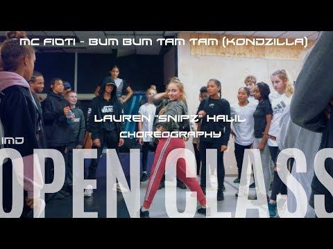 "MC Fioti - Bum Bum Tam Tam (KondZilla) | Choreography By Lauren ""Snipz"" Halil | IMD OPEN CLASS"