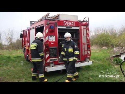 Pożar w Raduszu (gm. Grzmiąca)