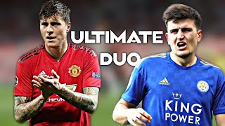 Victor Lindelof x Harry Maguire - Ultimate Defensive Duo for 2019/20 -  Amazing Tackles and Skills
