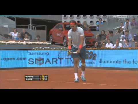 Rafael Nadal Vs Benoit Paire FULL HIGHLIGHTS | ATP Madrid Open 2013 R2