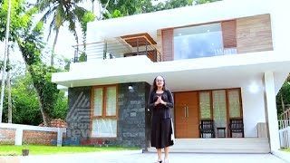 2200 Sq Ft Contemporary Style 3 Bed Room Home In Paravur | Dream Home 11 Jun 2016