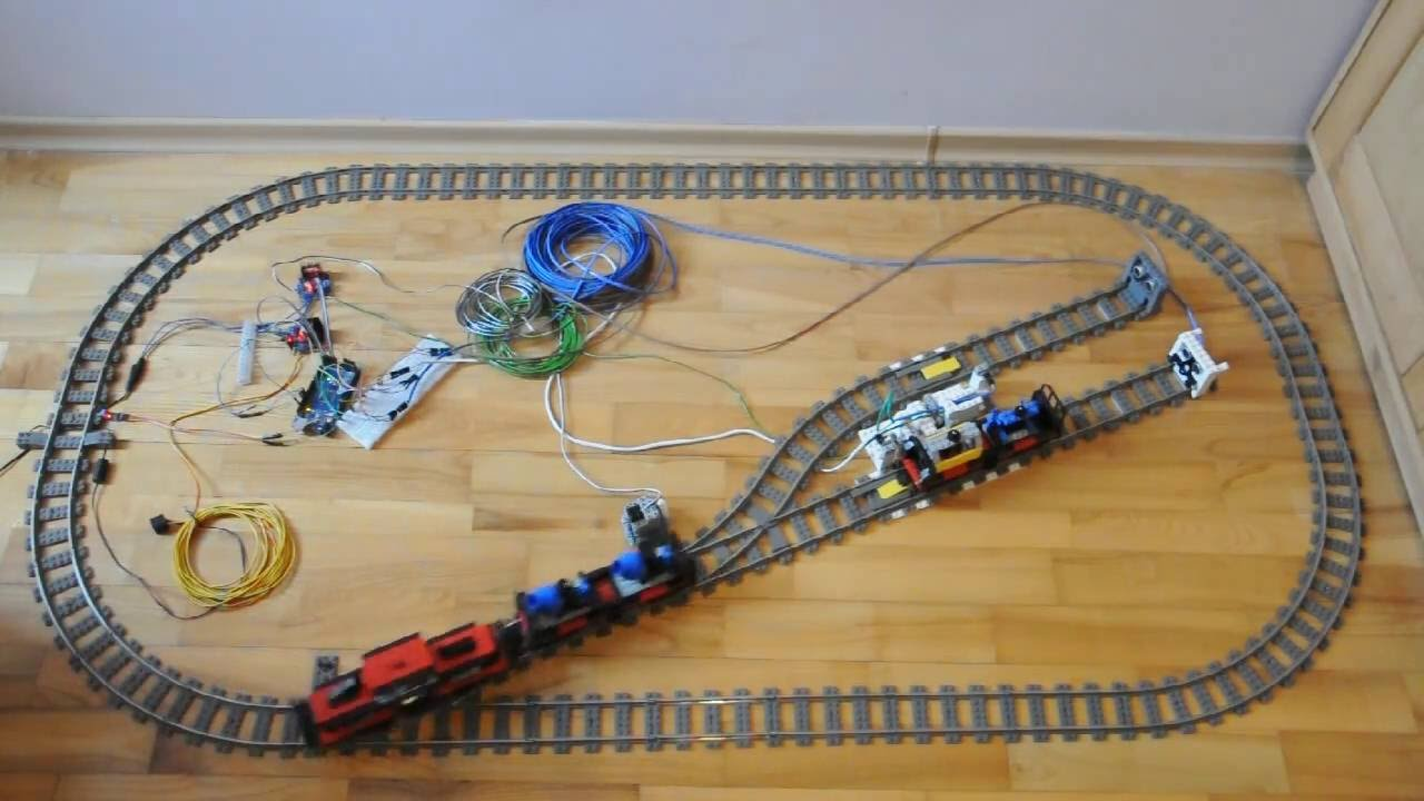 Arduino for lego trains automatic decoupler youtube