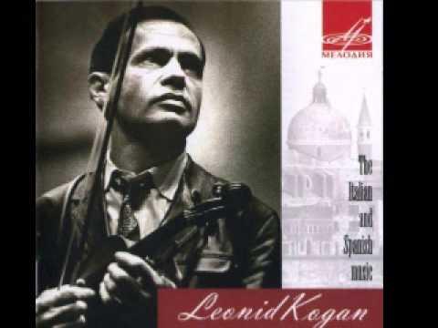 Paganini Sonatine For Violin & Guitar A Major - Leonid Kogan