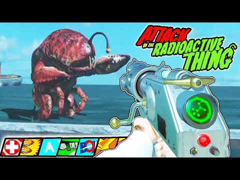 "Thumbnail: BOSS FIGHT! ""ATTACK OF THE RADIOACTIVE THING EASTER EGG"" INFINITE WARFARE ZOMBIES"