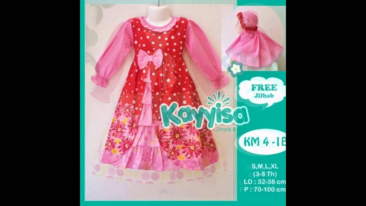 Baju Muslim Anak perempuan   Baju anak terbaru   koleksi baju lebaran anak 5a0e3fc336