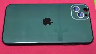 iphone 6 Plus Độ Lên iphone 11 Pro Max Màu Xanh Ngọc