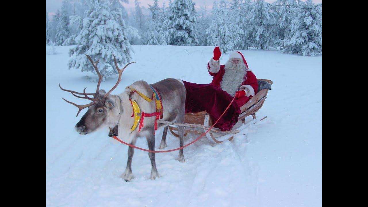 Viaggio Paese Babbo Natale.Paese Di Babbo Natale Lapponia Finlandia Video Per I Famiglie Rovaniemi Aurore Boreali Santa Claus