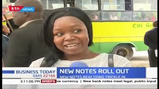 Mixed reactions from Kenyans on the new notes roll out
