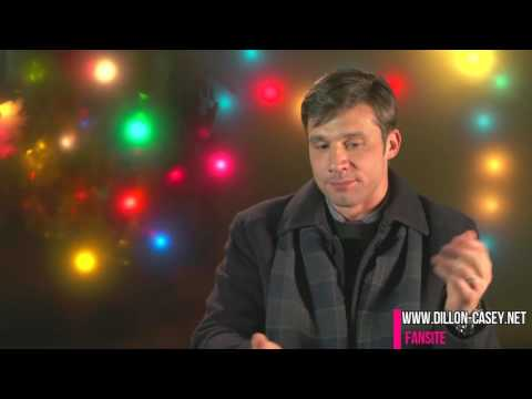 Dillon Casey Interview on the Set of A Perfect Christmas