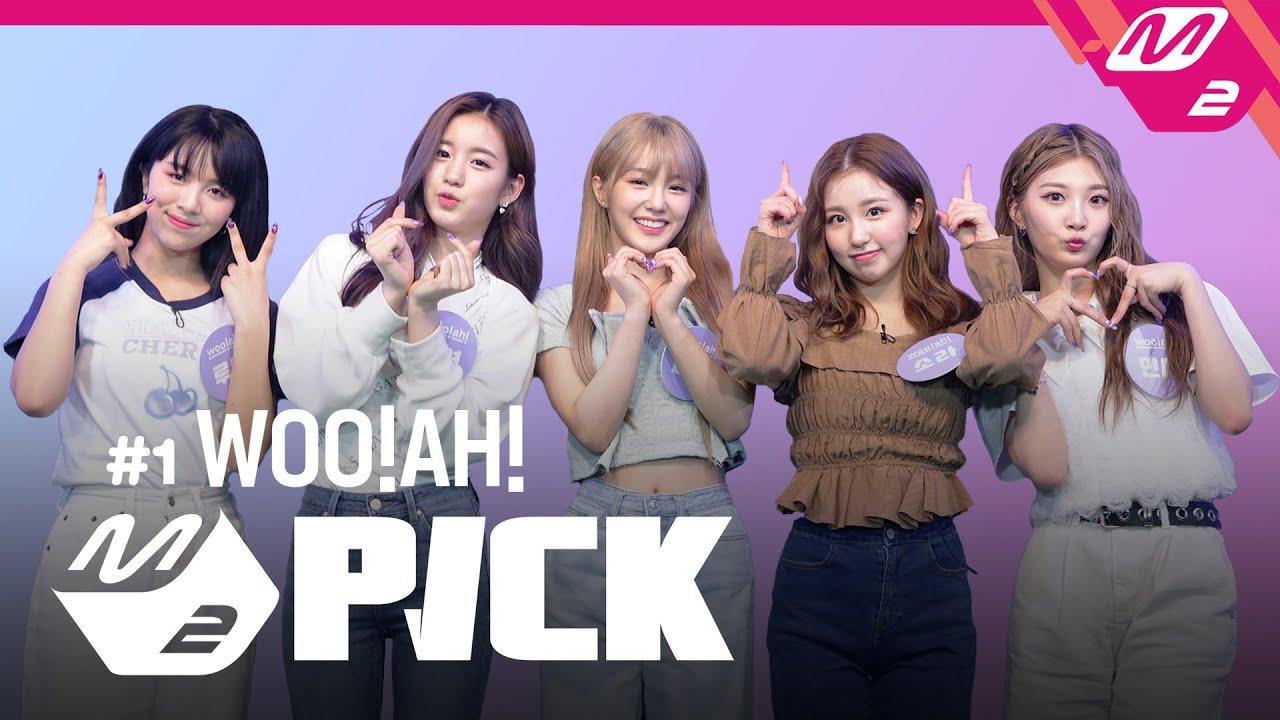 [M2 PICK] #1 Rookie Artist 'woo!ah!(우아!)'