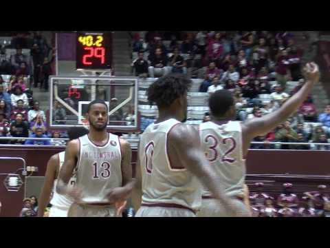 Highlights of NCCU Men's Basketball Win over NC A&T (March 1, 2018)