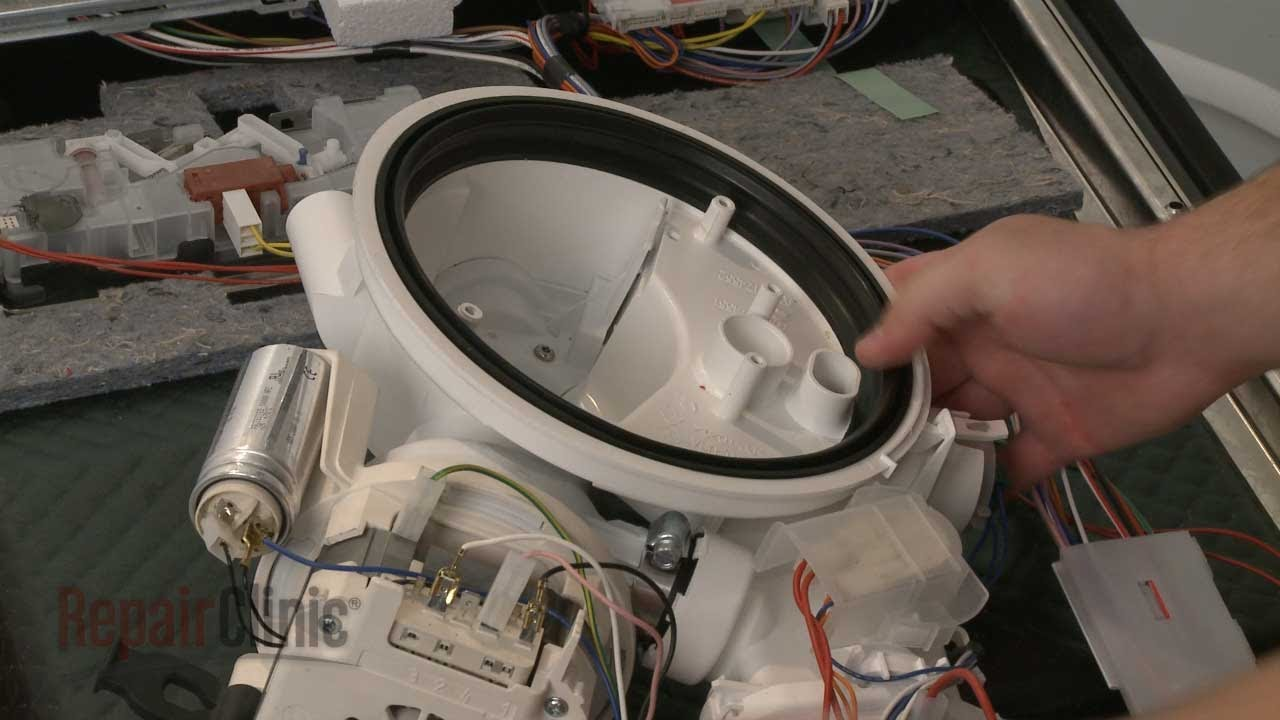 Dishwasher Pump Gasket Replacement – Bosch Dishwasher