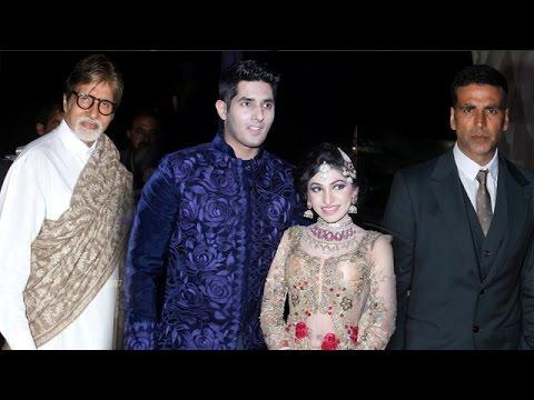 Bhushan Kumar Sister Tulsi Kumar Wedding Reception | Amitabh Bachchan & Akshay Kumar
