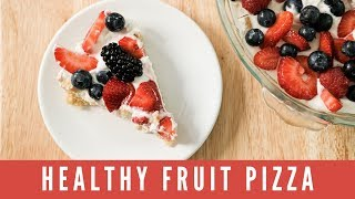 SUGARLESS Sugar Cookie Fruit Pizza   Holiday Dessert How-To