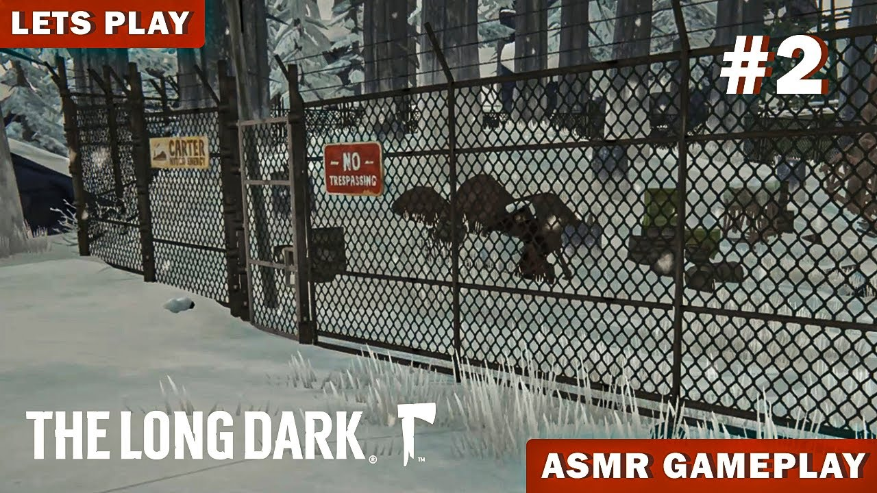 ASMR GAMING | Surviving In THE LONG DARK and Random Rambles - Whispered Gameplay