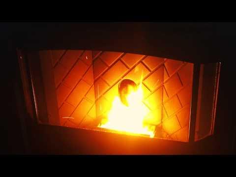 Enviro Meridian Pellet Stove Burn Video