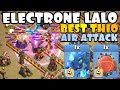 LIGHTNING WAS BANNED... so we used TH10 ELECTRONE LALO! TH10 Golden Cup | Best TH10 Attacks