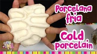 How to make COLD PORCELAIN / Como hacer PORCELANA FRIA (Resistente y Mejorada) Thumbnail