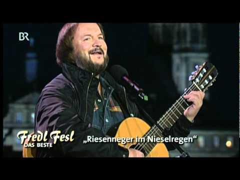 Fredl Fesl - Riesenneger bei Nieselregen (live 2000)